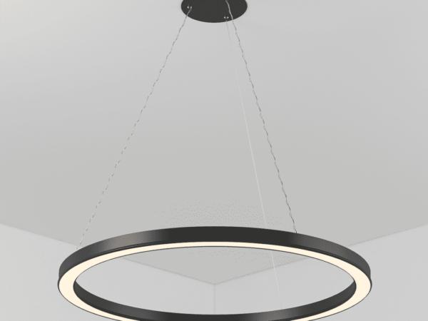 Светильник CIRCLE  подвесной D600H45 B45 LED 50W
