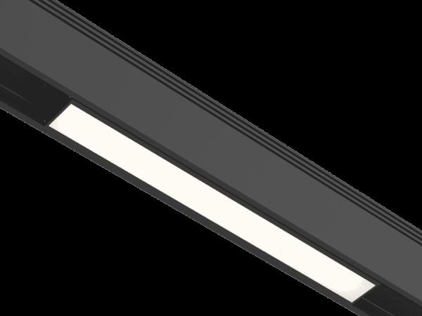 Светильник для низковольтного трека SY черный, 12 Ватт, 4000K