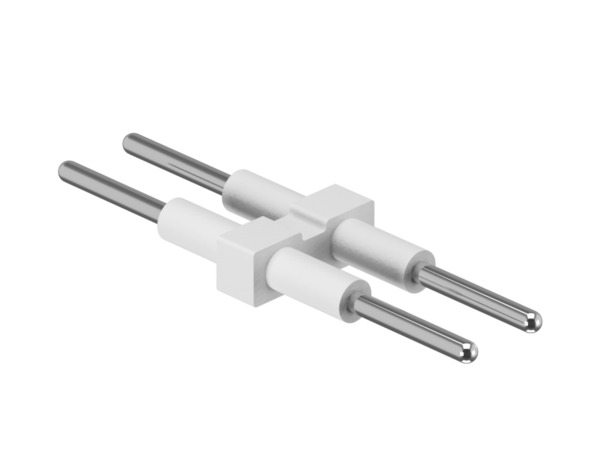 Коннектор вилочный для низковольтного трека SY mini, 5шт