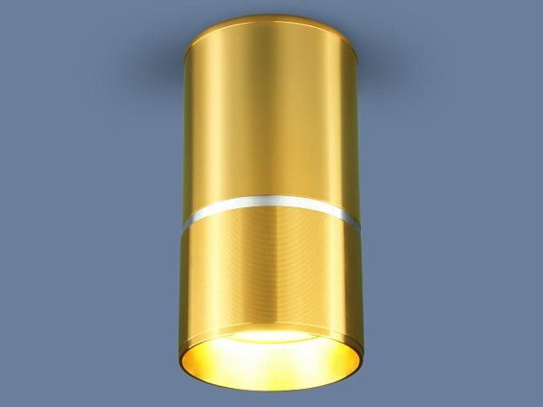 DLN106 GU10 / Светильник накладной золото