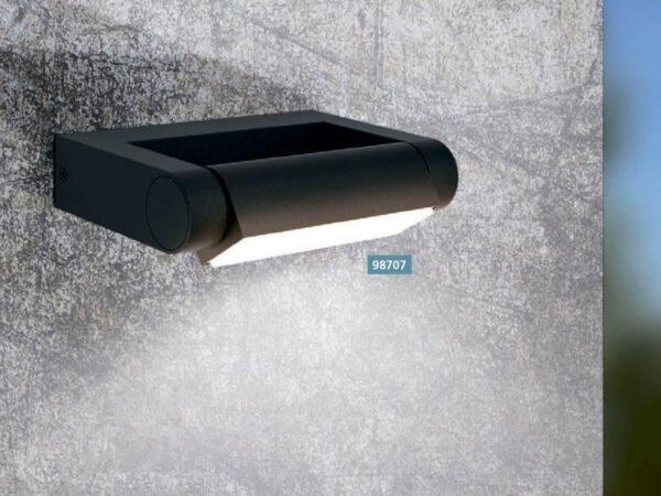 Уличный настенный светодиодный светильник Eglo Brianza 98707