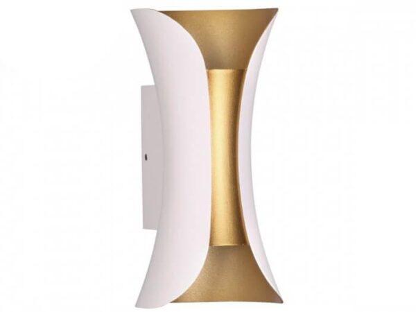 Уличный настенный светодиодный светильник Odeon Light Krista 3886/6WG