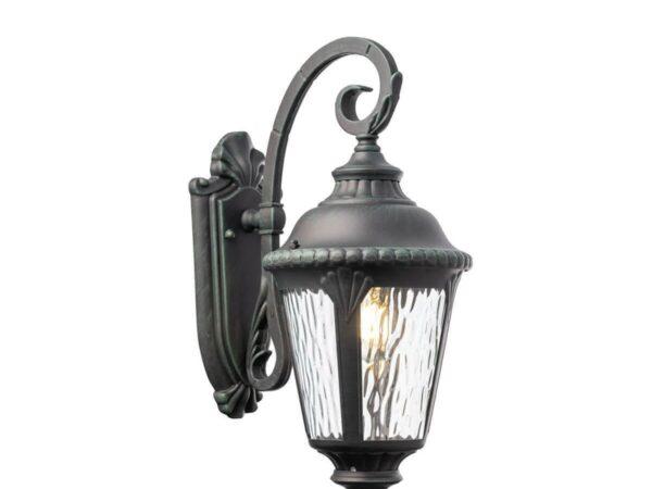 Уличный настенный светильник Maytoni Goiri O029WL-01GN