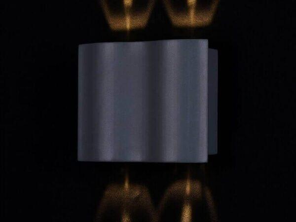 Уличный настенный светодиодный светильник Maytoni Greenwich O592WL-L12GR