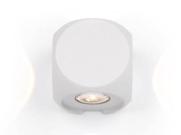 Уличный настенный светодиодный светильник Maytoni Knightsbridge O014WL-L4W