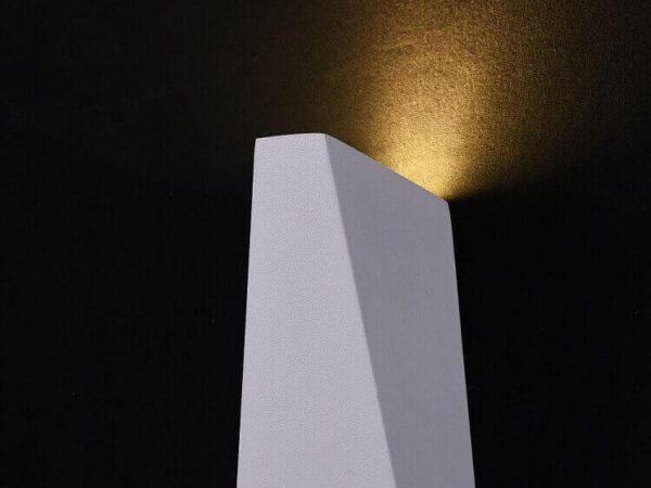 Уличный настенный светодиодный светильник Maytoni Times Square O580WL-L6W