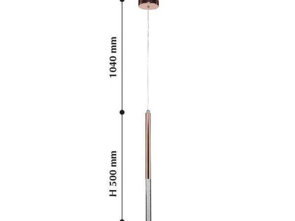 Подвесной светодиодный светильник Favourite Cylindro 2211-1P