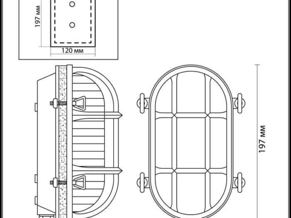 Настенный светильник Odeon Light Lofi 4131/1W