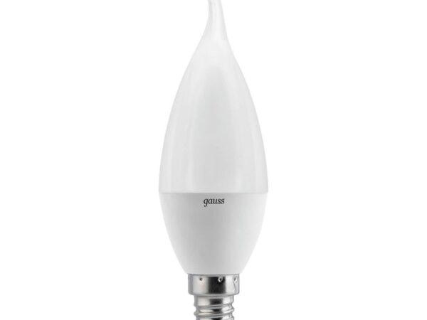 Лампа светодиодная Gauss E14 6.5W 4100K матовая 104101207