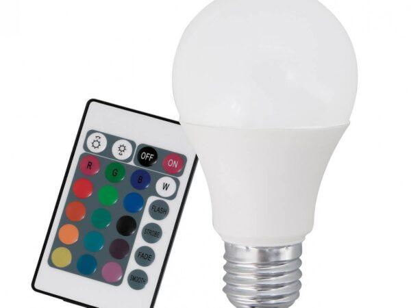 Лампа светодиодная диммируемая Eglo E27 7,5W 3000K матовая 10899