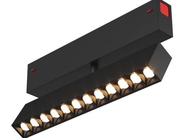 Трековый светодиодный светильник Denkirs DK8006-BK