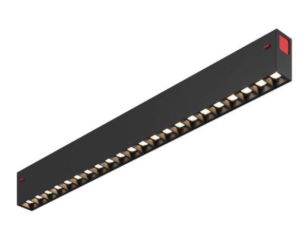 Трековый светодиодный светильник Denkirs DK8002-BK