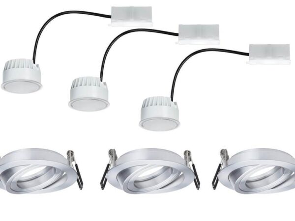 Встраиваемый светодиодный светильник Paulmann Coin 93970