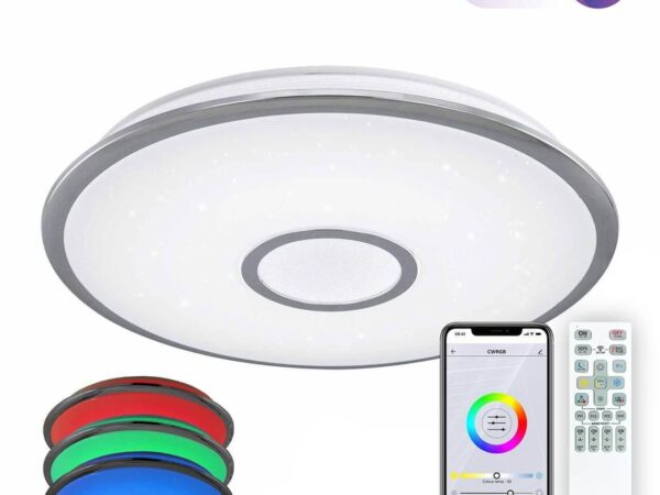 Потолочный светодиодный светильник Citilux Старлайт Смарт CL703A80G