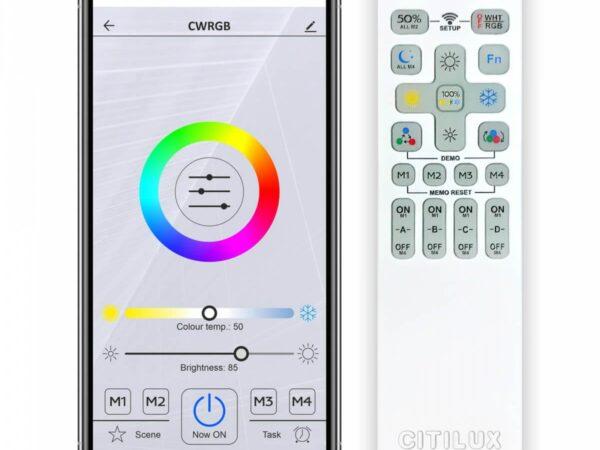 Подвесной светодиодный светильник Citilux Электрон CL710A104S