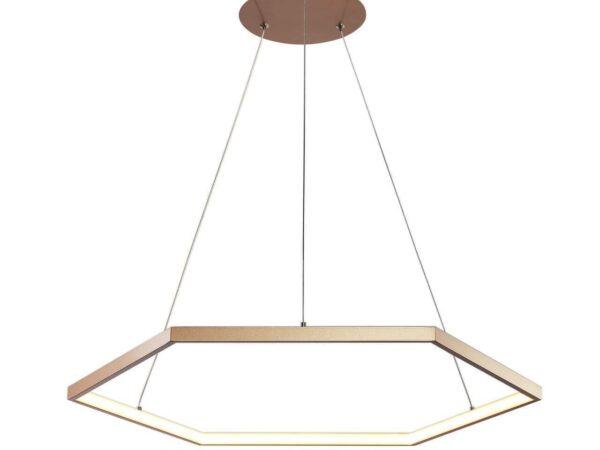 Подвесной светодиодный светильник Favourite Hexagon 2103-6P