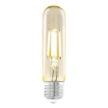 Лампа светодиодная филаментная Eglo E27 3,5W 2200К янтарь 11554