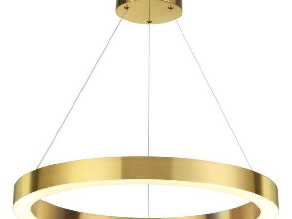 Подвесной светодиодный светильник Odeon Light Brizzi 3885/35LG
