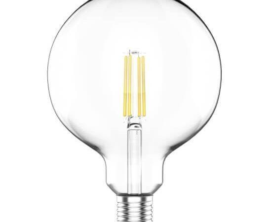 Лампа светодиодная филаментная Gauss E27 11,5W 2700K прозрачная 1111212