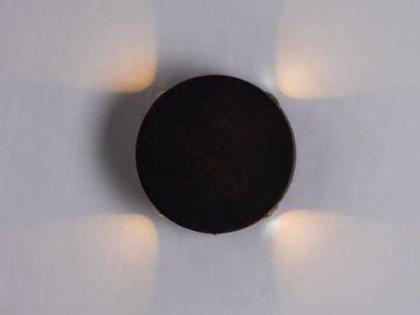 Уличный настенный светильник Arte Lamp Tamburello A1525AP-1RI