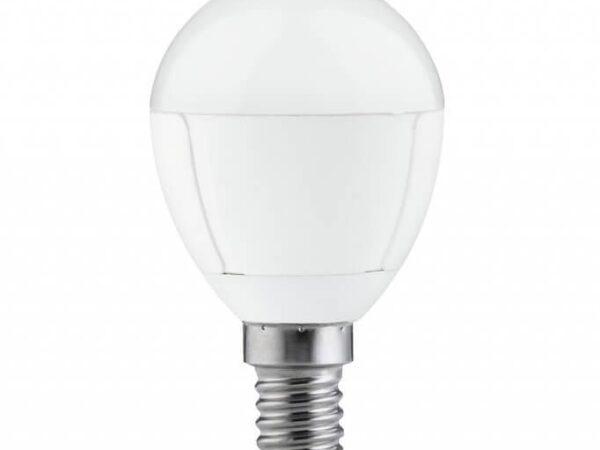 Лампа светодиодная 5W E14 3000K матовая 28148