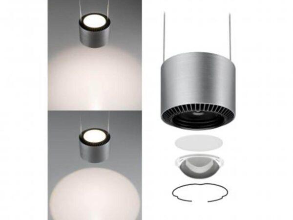 Подвесной светодиодный светильник Paulmann Aldan 79720