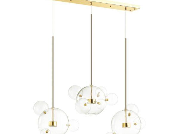 Подвесная светодиодная люстра Odeon Light Bubbles 4640/36L
