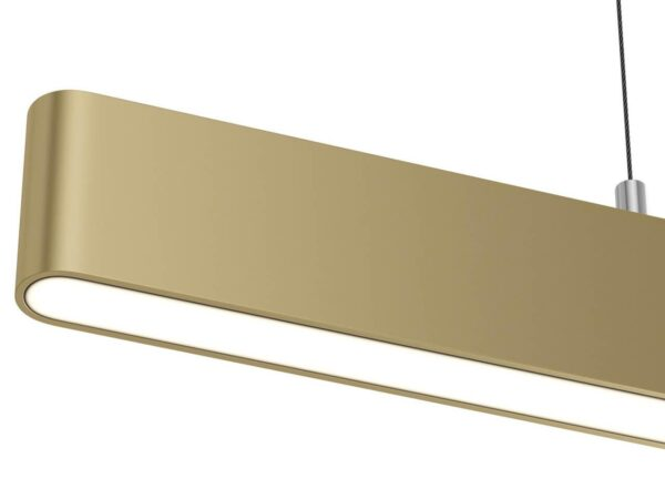 Подвесной светодиодный светильник Maytoni Step P010PL-L23G3K