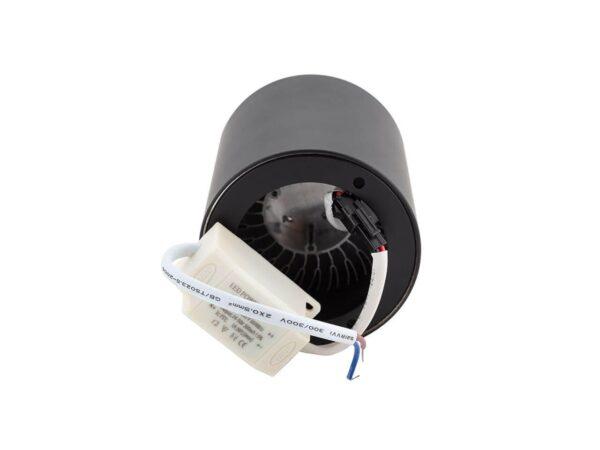 Потолочный светодиодный светильник Denkirs DK4010-BK