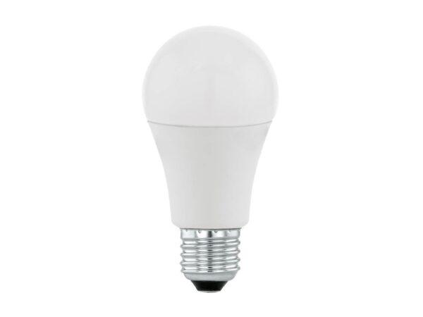 Лампа светодиодная Eglo E27 9,5W 3000K матовая 11714