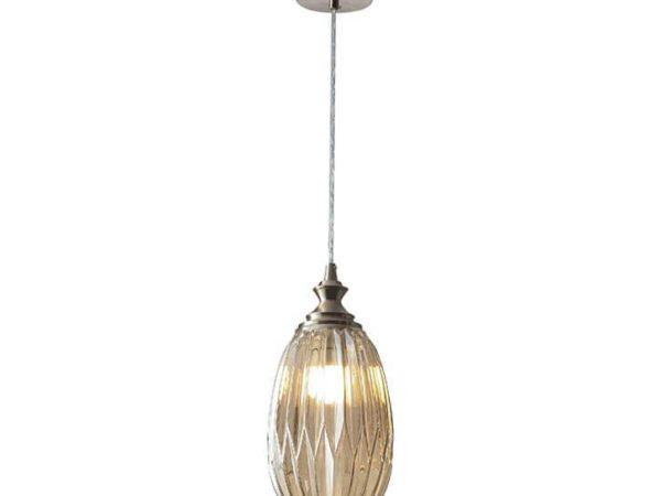 Подвесной светильник Newport 6141/S nickel/cognac М0062471
