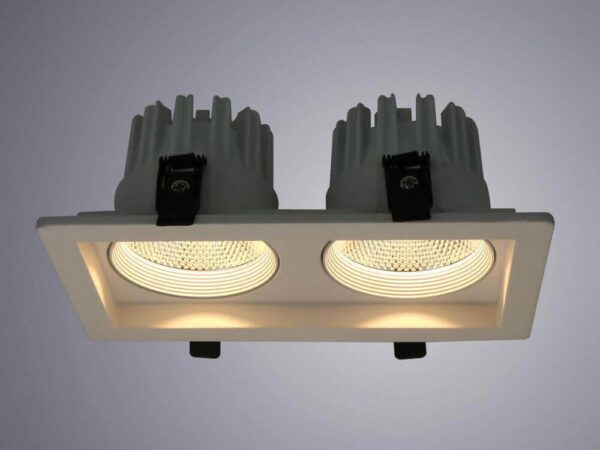 Встраиваемый светодиодный светильник Arte Lamp Privato A7007PL-2WH