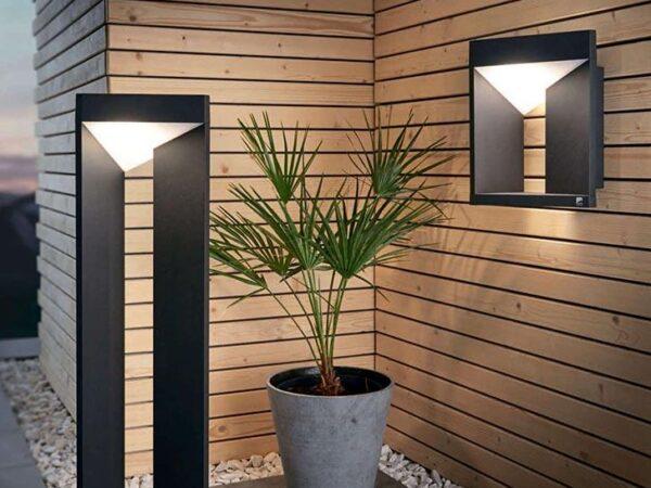 Уличный настенный светодиодный светильник Eglo Nembro 98748