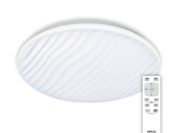 Потолочный светодиодный светильник с пультом ДУ Citilux Дюна CL72080RC