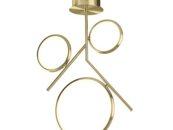 Подвесная светодиодная люстра Mantra Olimpia Oro 6581