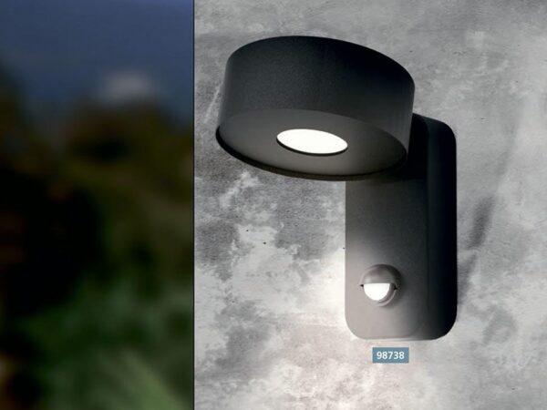 Уличный настенный светодиодный светильник Eglo Palosco 98737
