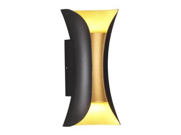 Уличный настенный светодиодный светильник Odeon Light Krista 3886/6BG