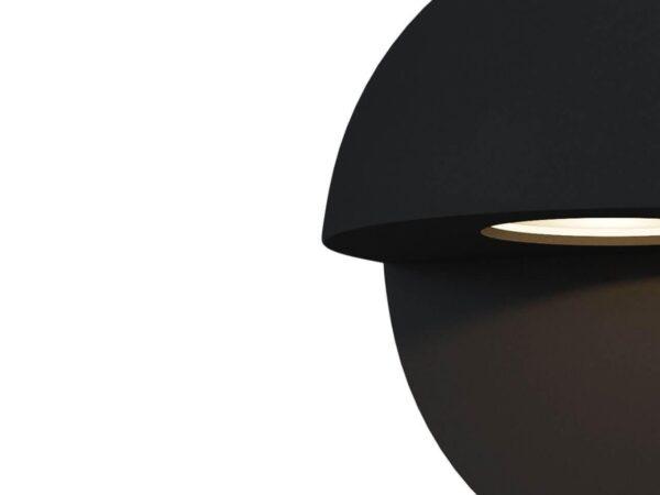 Уличный настенный светодиодный светильник Maytoni Mezzo O033WL-L3B3K