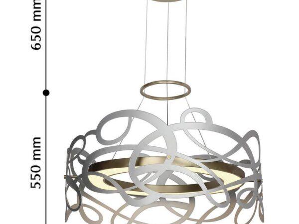 Подвесной светодиодный светильник Favourite Ria 2352-5P