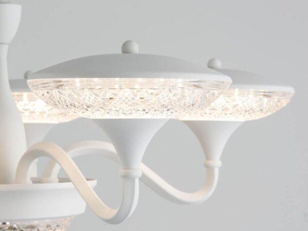 Подвесная светодиодная люстра Arte Lamp A5168LM-5WH