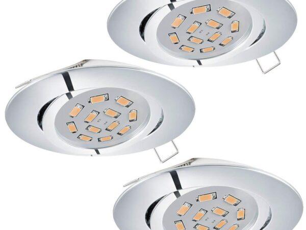 Встраиваемый светодиодный светильник Eglo Tedo 95362