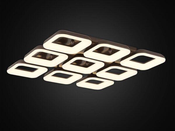 Потолочная светодиодная люстра Citilux Паркер Кофе CL225295R