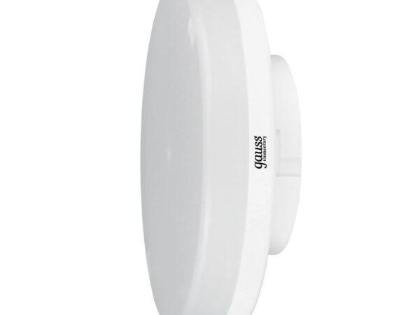 Лампа светодиодная Gauss GX53 11W 6500K матовая 83831