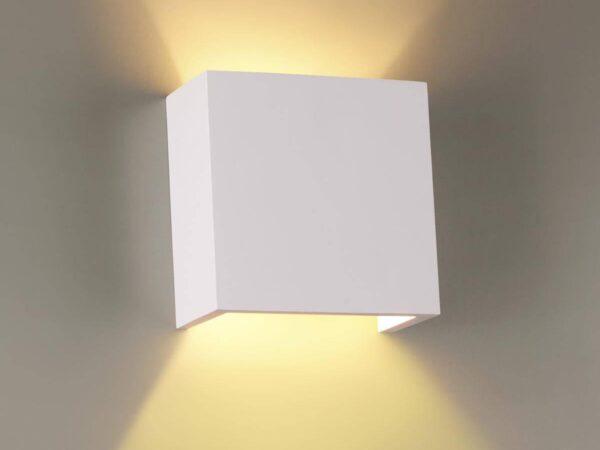 Настенный светильник Odeon Light Gips 3883/1W