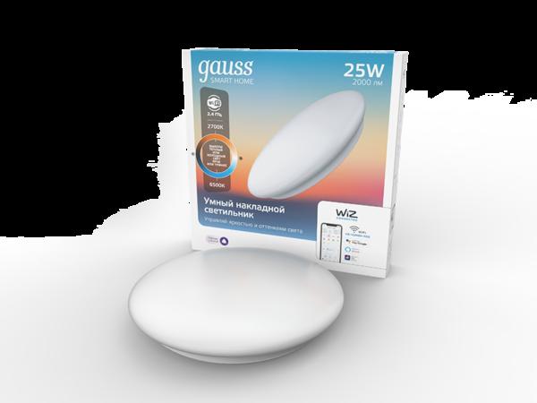 Накладной светодиодный светильник Gauss Smart Home 2050112