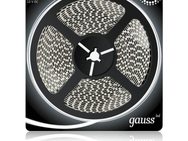 Светодиодная влагозащищенная лента Gauss 9,6W/m 120LED/m 2835SMD холодный белый 5M 311000310
