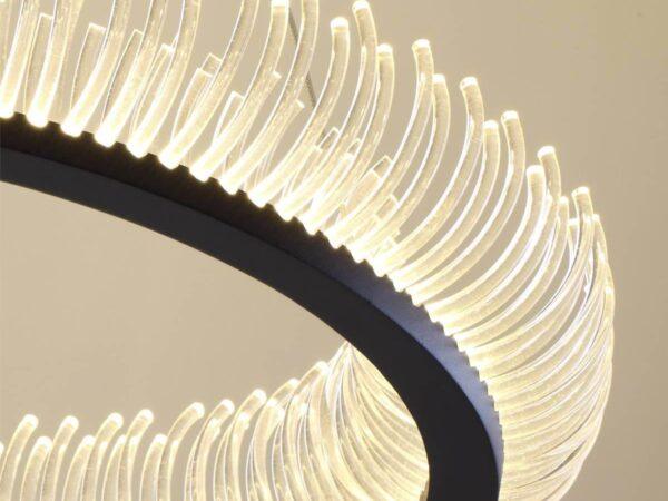 Подвесной светодиодный светильник Odeon Light Fire Ring 3863/61L