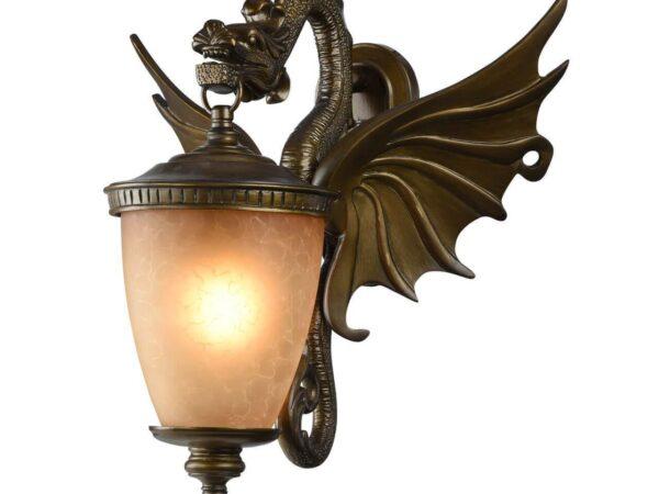 Уличный настенный светильник Favourite Dragon 1717-1W