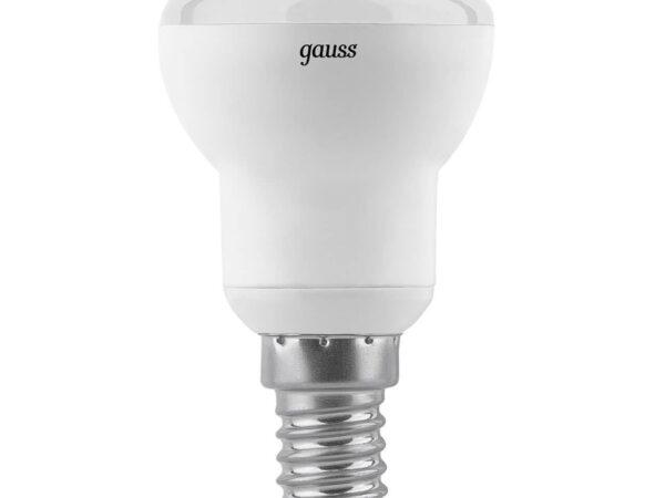 Лампа светодиодная рефлекторная Gauss E14 4W 2700K матовая 106001104