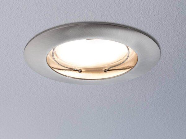 Встраиваемый светодиодный светильник Paulmann Coin 93957